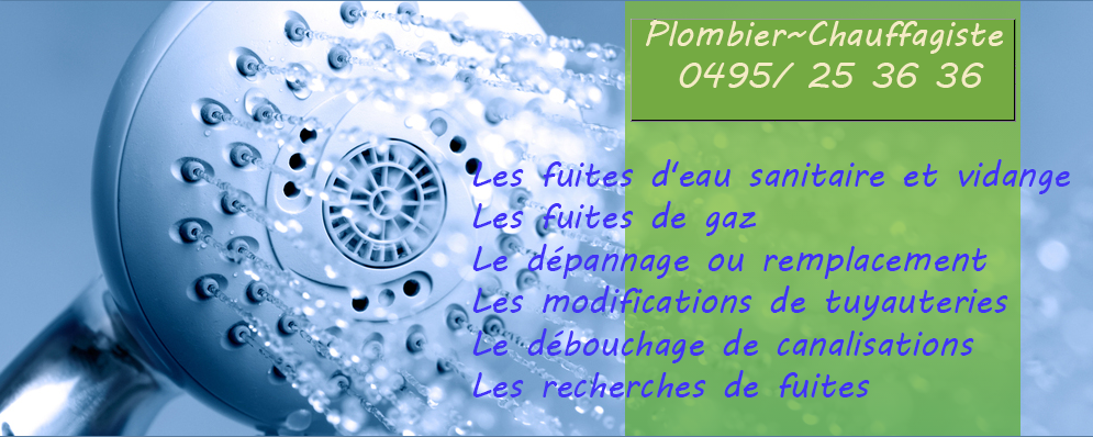 plomberie depannage wavre nivelles